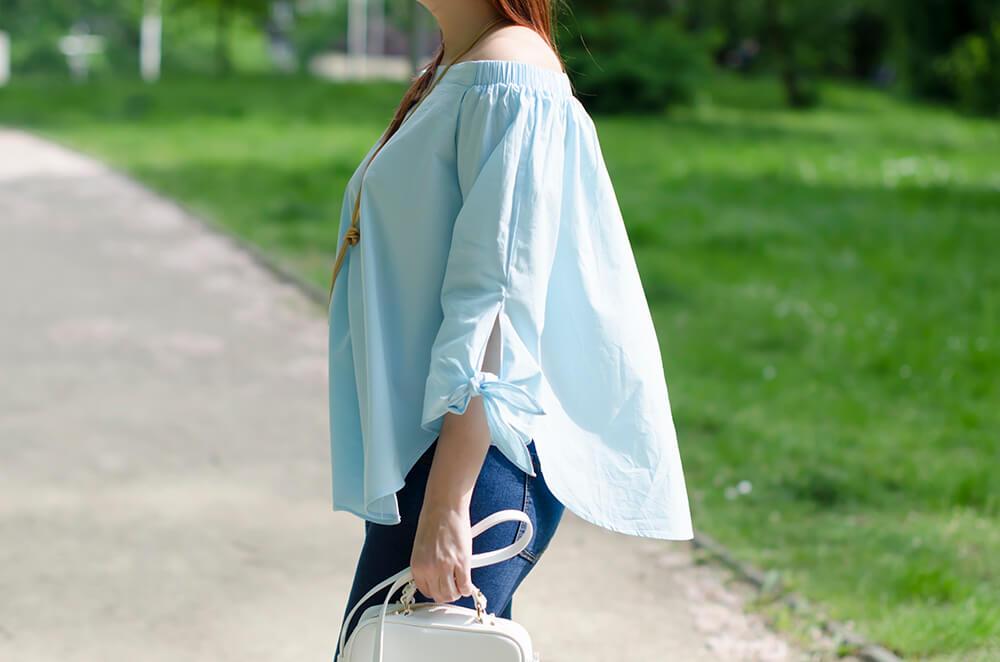 stylizacja z damskim skórzanym plecakiem